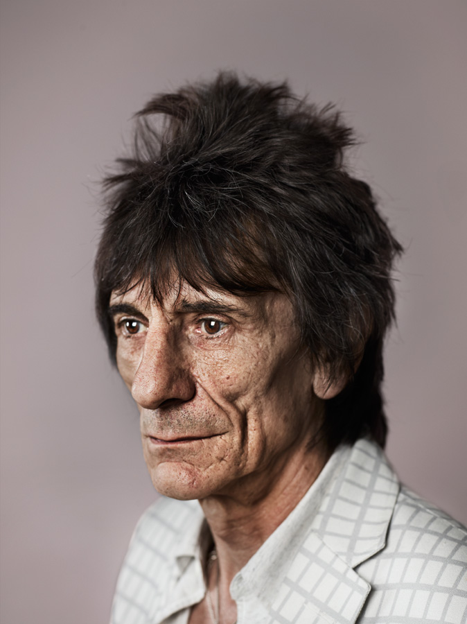 Ronnie Wood, Castle Fine Art Gallery, London, 1st August 2013