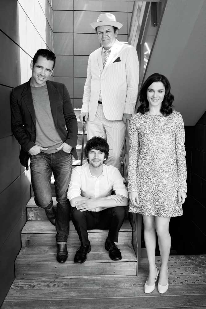 Colin Farrell, Ben Whishaw, John C. Reilly, Rachel Weisz,  Cannes, 2015