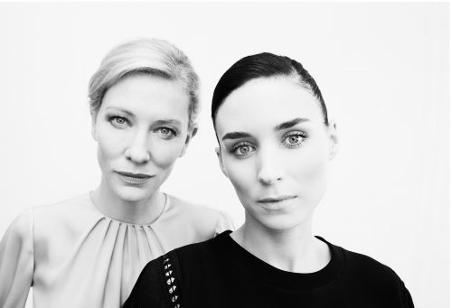 Photograph 2016 Chris Floyd Cate Blanchett & Rooney Mara Cate Blanchett & Rooney Mara - Location;Female;Portrait;Actress;Studio