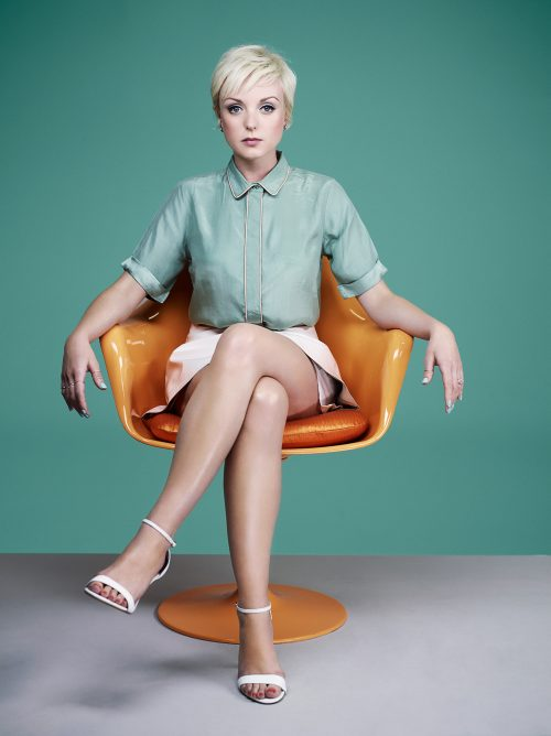 Photograph 2016 Chris Floyd Helen George for BAFTA Awards Portfolio Helen George for BAFTA Awards Portfolio - Studio;Portrait;Female;Actor;Actress