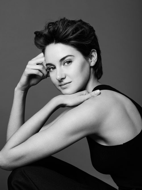 Photograph 2016 Chris Floyd Shailene Woodley Shailene Woodley - Studio;Female;Portrait;Actress