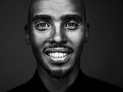 Photograph 2016 Chris Floyd Mo Farah Mo Farah - Studio;Male;Portrait;Sport;Running;Runner;Athlete;Olympian