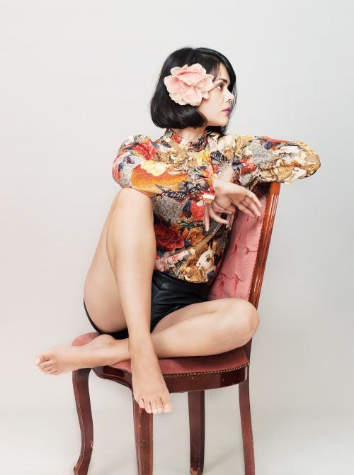 Photograph 2016 Chris Floyd Natasha Khan/Bat For Lashes Natasha Khan/Bat For Lashes - Studio;Female;Portrait;Music;Musician;Singer