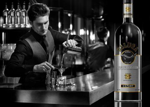Photograph 2016 Chris Floyd Beluga Vodka Beluga Vodka - Advertising;Lifestyle;Alcohol;Vodka;Russia;Billboard;Location