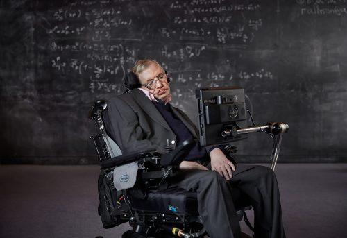 Photograph Copyright © Chris Floyd Professor Stephen Hawking Professor Stephen Hawking - Male;Portrait;Location;Scientist;Science;Genius;Paralysed;ALS;Motor;Neurone;Disease;MND
