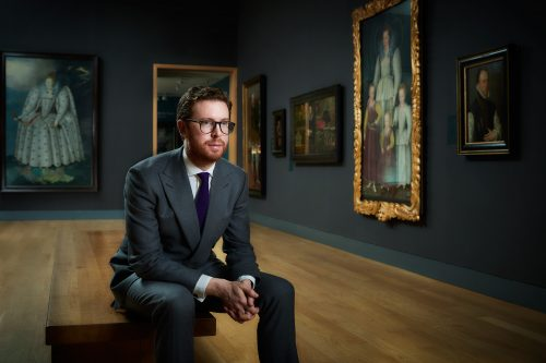 Photograph Copyright © Chris Floyd Dr. Nicholas Cullinan, Director Of The National Portrait Gallery, London Dr. Nicholas Cullinan, Director Of The National Portrait Gallery, London - Male;Portrait;Location;CEO;Creative Director;Art;Artist