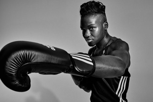 Photograph 2016 Chris Floyd Nicola Adams Nicola Adams - Studio;Female;Portrait;Sport;Boxing;Olympian