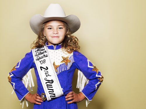 Photograph 2016 Chris Floyd Miss Teen Rodeo Miss Teen Rodeo - Lifestyle;Reportage;Sport;Kids;America;USA;Female;Girl;Girls;Horses