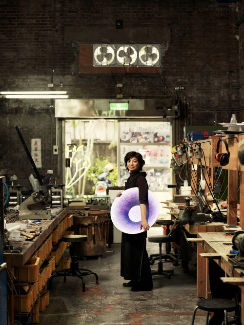 Photograph Copyright © Chris Floyd Tseng Yung-Ling - 'Taiwan Revealed' for Wallpaper* Tseng Yung-Ling - 'Taiwan Revealed' for Wallpaper* - Location;Female;Portrait;Artist