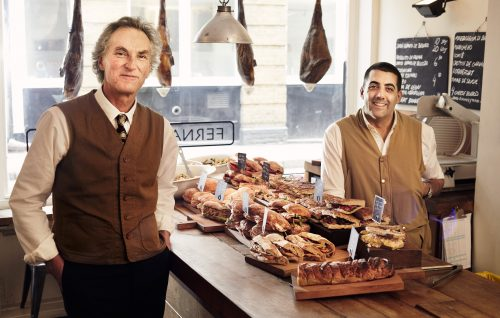 Photograph Copyright © Chris Floyd Jorge Fernandez and Rick Wells, Founders of Fernandez & Wells Jorge Fernandez and Rick Wells, Founders of Fernandez & Wells - Male;Location;Portrait;Food;Lifestyle