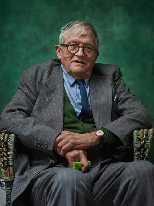 Photograph Copyright © Chris Floyd David Hockney David Hockney - Male;Portrait;Location;Artist