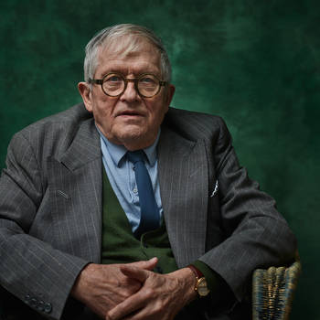 On Photographing David Hockney
